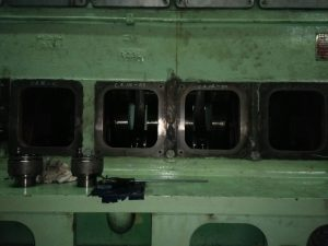 Repair of Crankshaft in Engine Block