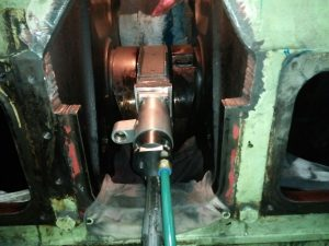 Crankshaft Repair on Board the Vessel