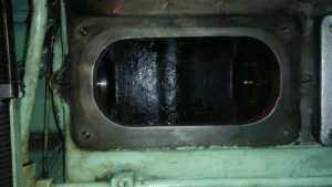 Cam Cover Sitting Area of Engine Block After Repair